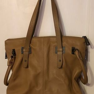 Kenneth Cole satchel soft leather handbag
